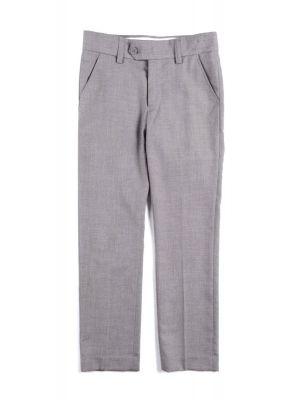Dressbukse - Fine Tailoring, Lys grå
