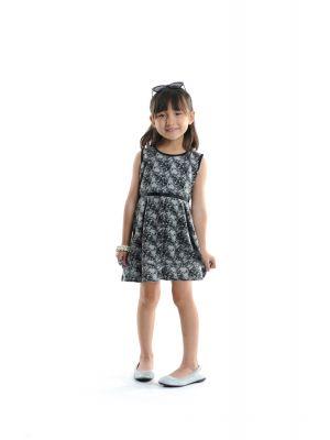 Kjole - Garden dress Lace, Sort & hvit