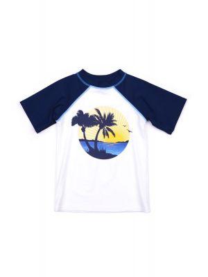 T-skjorte - UV 50+ Rashguard Palmtrees