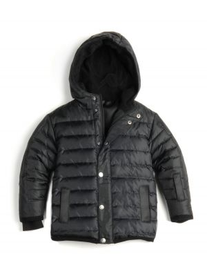 Dunjakke - Expedition Coat Black, Svart