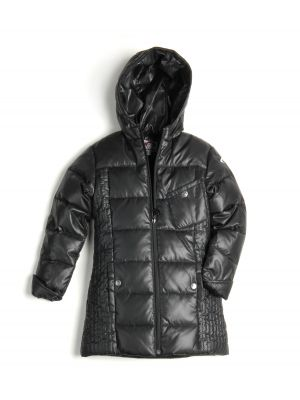 Dunkåpe - Black Light Long Down Coat, svart