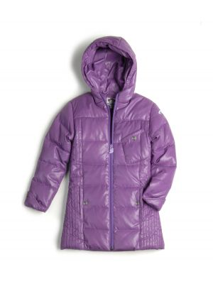 Dunkåpe - Jolly Grape Light Long Down Coat, lilla