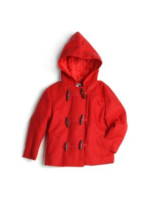 Duffelcoat - Red Little Jacket, Rød