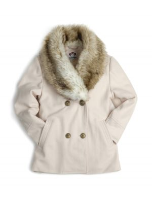 Ullkåpe - Madison Coat, kremhvit