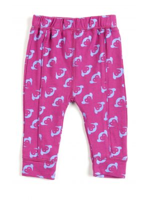 Leggings - Monkey Legging, Dark Pink