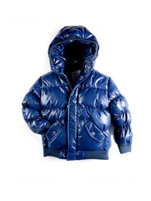 Dunjakke  - Puffy Coat Galaxy, Mørkeblå