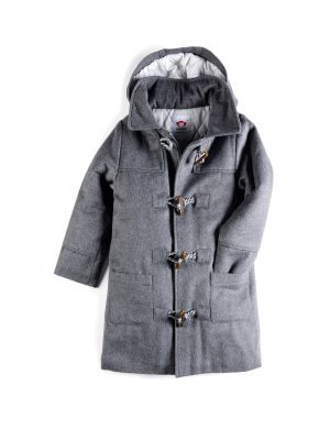 Duffelcoat - Toggle Coat, Koksgrå