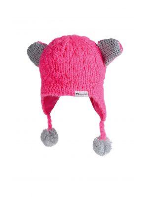 Mini lue -  Kitten Cap, dyp rosa