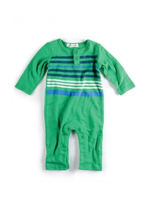 Sparkedress - Striped Henly Jumpsuit, Grønn