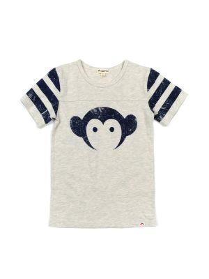 T-skjorte - Logo Hockey Jersey Cloud Heather Mini, Lys grå
