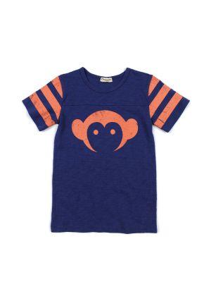 T-skjorte - Logo Hockey Jersey Cobalt Mini, Blå