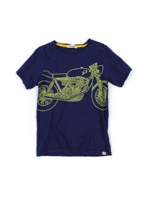 T- skjorte - Shazam Bike, Blå