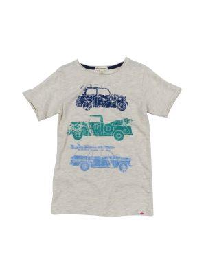 T-skjorte - Graphic Beach Ride, Lys grå