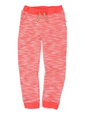 Joggebukse - Stanton Jogger Neon Coral, Lakserød