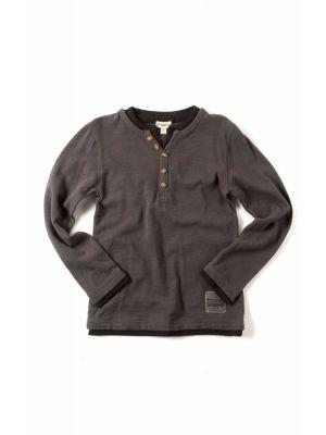 Langermet trøye - Camden Shirt, grå