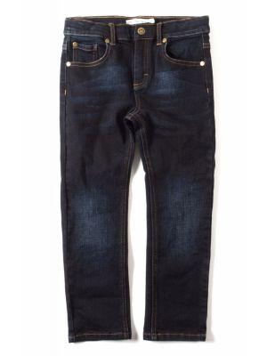 Bukse - Skinny Leg Denim Jeans, mørk blå