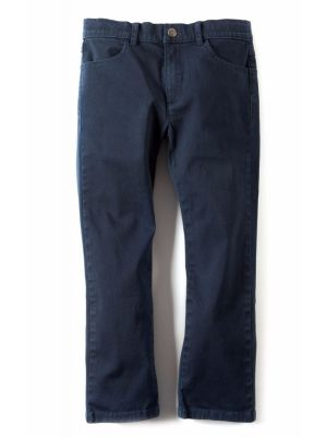 Bukse - Skinny  Twill Pant, blå