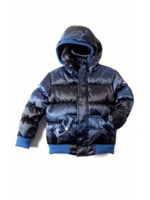 Dunjakke Mini - Puffy Coat, blå