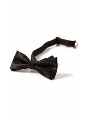 Tversover sløyfe - Black Luxe, Svart