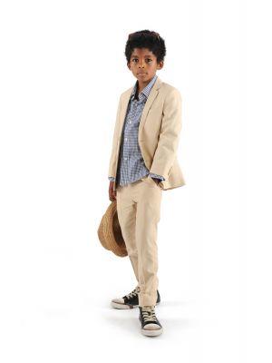 Stilig dress til gutt i khaki
