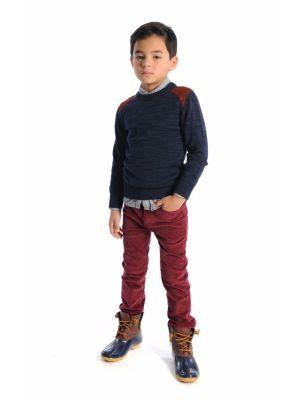 Genser - Skillman Sweater, blå