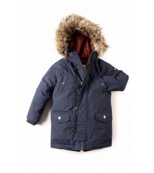 Dunparkas - Morningside Coat, blå
