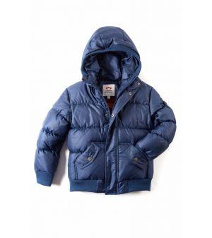 Dunjakke - Puffy Coat,  Blå